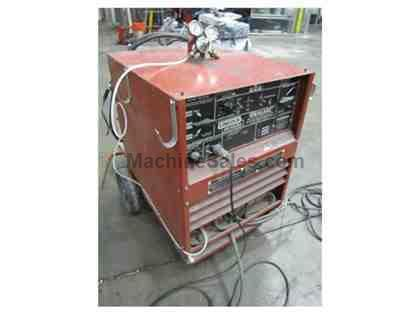 USED IDEALARC MODEL TIG 250/250 VAR VOLTAGE AC/DC WELDING POWER SOURCE