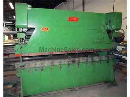 45 Ton LENNOX #45-10 Mechanical Press Brake