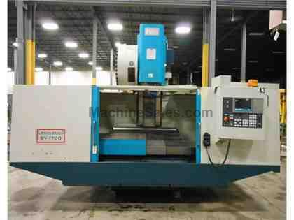 "2007 AKIRA SEIKI MODEL SV1700 VERTICAL MACHINING CENTER, 66"" X 33"" X 32"""