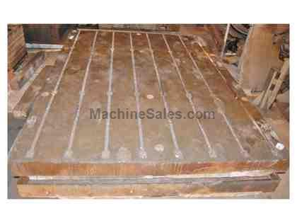 "(3) 96"" x 120"" T-Slotted Floor Plates"