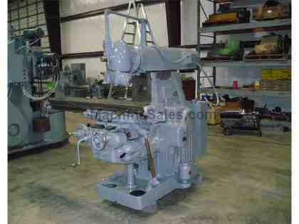 "3.5"" X 64"" Used K & T Horizontal Milling Machine With Indenpe"