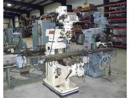 "10"" X 50"" Used Mighty (Comet) Knee Type Milling Machine"