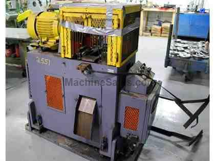 "18 Ton x 2"" TISHKEN #CO-6-8-18, 4-Post Cut-Off Press"