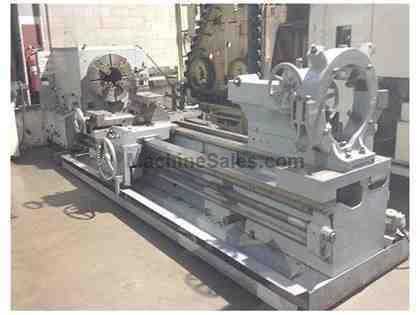 "33"" x 120"" BINNS & BERRY OIL COUNTRY LATHE with 10-1/2"""