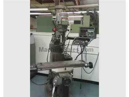 Bridgeport Series 1 Mill w/ 2 axis proto-track CNC control