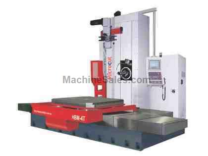 "5.12"" Microcut CNC T-Type Horizontal Boring Mill"