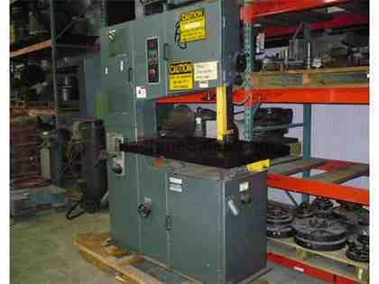 "12""X36"" Marvel (Spartan) Vertical Band Saw With Blade Welder"
