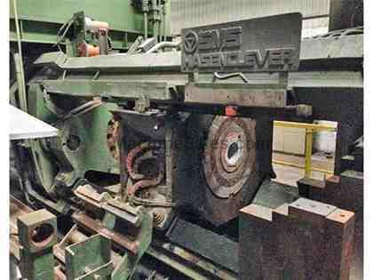 1250 Metric Ton, SMS, 1990, ALUMINUM EXTRUSION PRESS (12696)