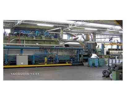 "2200 Ton, BREDA, (Rebuilt 1999), ALUM EXTRUSION PRESS, 8"" BILLET DIA (12054)"