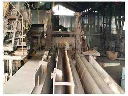 9 STAND/15 PASS REBAR MANUFACTURING MILL INSTALATION (11895)
