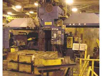 "9"" (228mm) x 20"" (508mm) x 18"" (457mm), RUESCH, 4-HI COLD ROLLING MILL (11401)"
