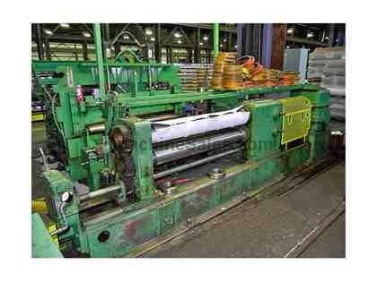"52"" x 6.50"" x 40,000#, STAMCO, SLITTING LINE, UNCOILER, RECOILER"