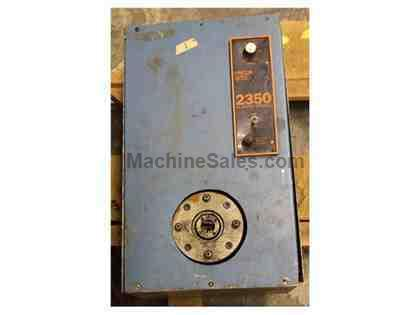 "1/4"", BHS MODEL 2-2, 2 DIE VAR SPEED ROTARY SWAGING MACHINE, 1/16"" SOLIDS (12438"