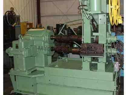 "10"" x 2"", FENN 2 HI WIRE FLATTENING MILL, 75 HP DC, CARBIDE SHELL ROLLS (12009)"