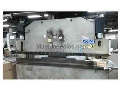 110 Ton x 10' Darley Hydraulic Press Brake Model EHP 110 31/25 1984