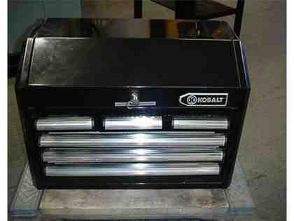 Tool box with flip top by Kobalt