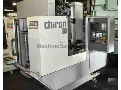 CHIRON #FZ12W CNC VERTICAL MACHINING CENTER