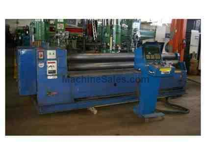 "10' X 3/16"" ROUNDO CNC HYDRAULIC 4 ROLL PLATE BENDING ROLL"