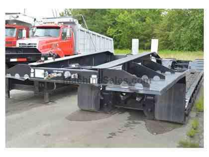 2006 TOWMASTER T-70DTG LOWBOY RGN TRAILER