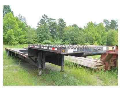 1999 FRUEHAUF DROP DECK TRAILER