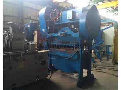 Rousselle 100 Ton Straight Side Double Crank Press