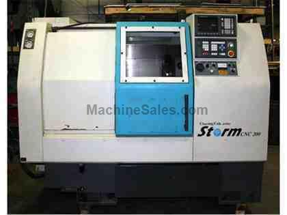 CLAUSING COLCHESTER STORM 200 CNC TURNING CENTER