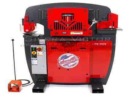 75 Ton EDWARDS® Hydraulic Ironworkers
