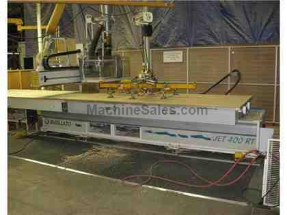5' x 12' Busellato CNC Router Model Jet 400 RT New 2008