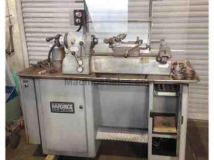 HARDINGE SECOND OPERATION LATHE