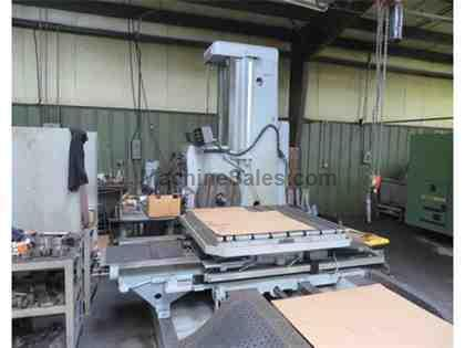 "Tos W100 4"" Manual Table Type Horizontal Boring Mill (1979)"