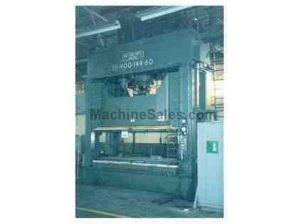 400 Ton Williams & White Down Acting Hydraulic Press