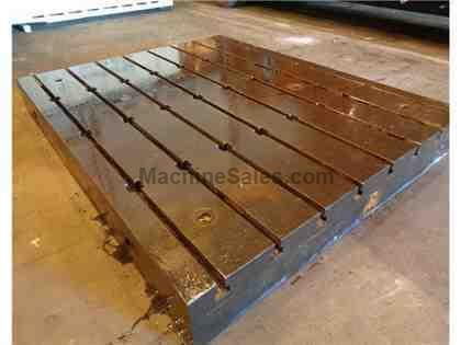 T-Slotted Floor Plate 10 ft x 8 ft x 12 in  - 14 plates in stock