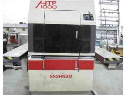 "22 Tons 40""Thr Nisshinbo HTP-1000 CNC TURRET PUNCH PRESS"