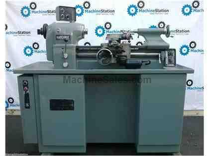 HARDINGE TFB-H SUPER-PRECISION TOOLROOM LATHE W/ COLLET CLOSER