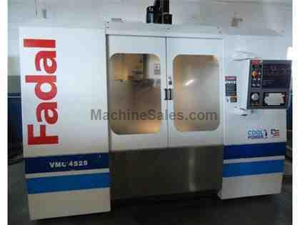 FADAL, VMC 4525HT, CNC VERTICAL MACHINING CENTER NEW: 2005