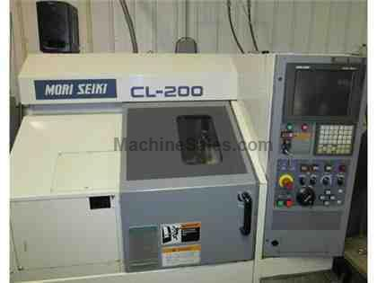 "Mori Seiki CL-200- 2.5"" Bar, 3,500 RPM, 10 Tools, 1997"