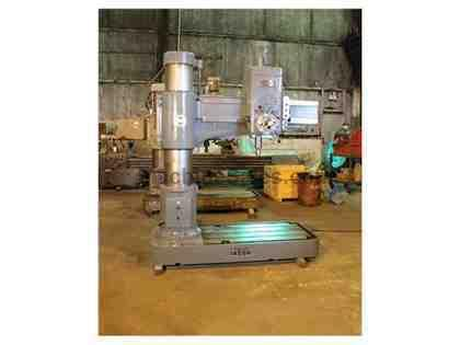 "4' X 13"" IKEDA RADIAL ARM DRILL PRESS MODEL RM-1300 NEW: 1975"