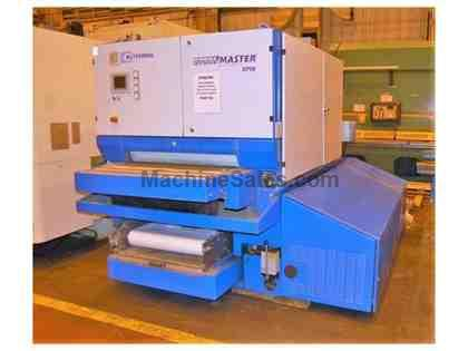"Steelmaster SPW 409 RRBB 37"" Wet Type Deburring & Finishing Machin"