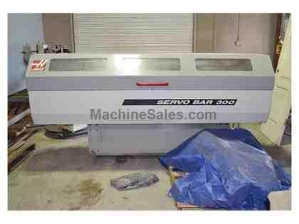 "HAAS SERVO BAR 300, 2004, 60"" LENGTH, MOUNTING PLATE, BAR LINERS, VERY CLEAN"