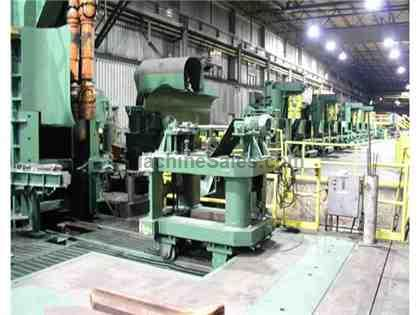 13 stand Bar mill, SCR drives, H/V stands, cooling bed, complete