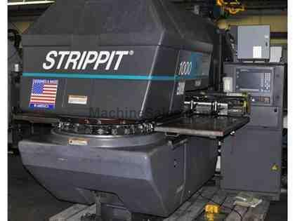 STRIPPIT #1000/20 22TON CNC TURRET PUNCH