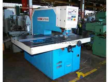 50 TON EUROMAC HYDRAULIC SINGLE END PUNCH, MODEL XP-750/50