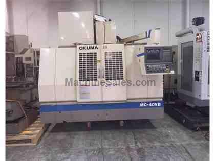1996 Okuma Cadet VMC-40VB CNC Vertical Machining Center