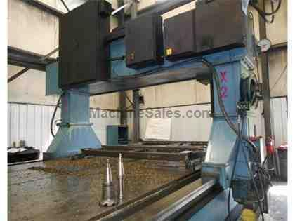 CINCINNATI MILACRON CNC GANTRY VERTICAL MILLING MACHINE