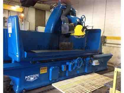 "30"" MATTISON RECIPROCATING SURFACE GRINDER"