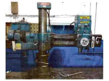 "4'9"" Giddings & Lewis Chipmaster Radial Arm Drill"