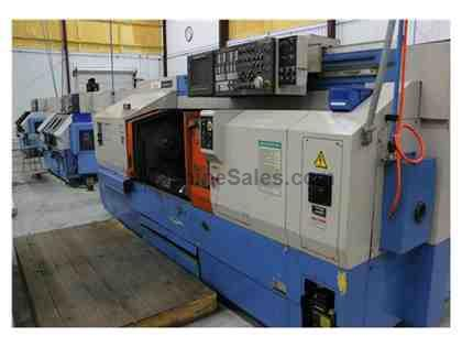Mazak Multiplex 430 Twin Spindle CNC Lathe, 1994 Used Mazak Multiplex 430