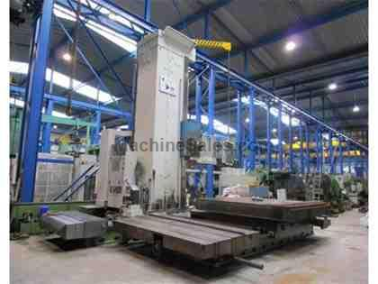 Wotan Rapid 5C CNC Floor Type Horizontal Boring Mill with Square Ram