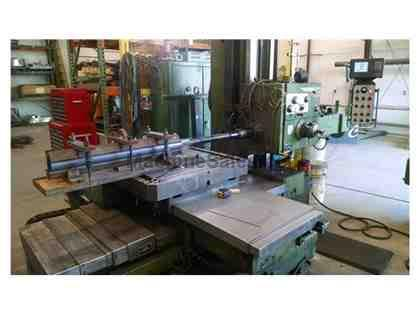 Wotan B75M 4-1/8th Table Type Horizontal Boring Mill