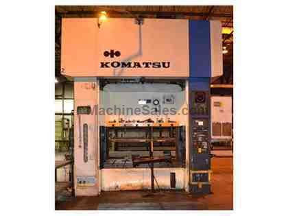komatsu press machine